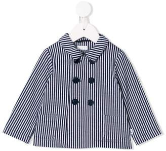 Il Gufo striped double-breasted jacket
