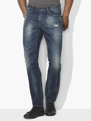 John Varvatos Bowery Distressed Jean