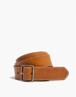 Madewell Leather Contrast-Stitched Belt