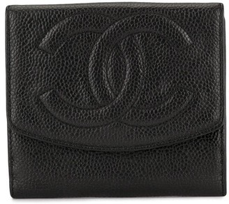 Chanel Pre-Owned CC stitch bifold wallet