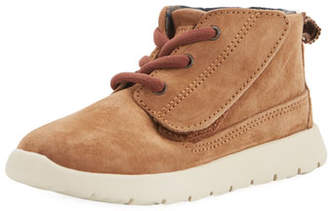 UGG Girls' Suede Canoe Boot, Toddler Sizes 6-12