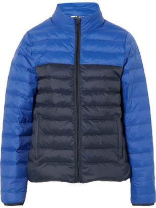 Tory Sport Quilted Shell Down Jacket - Navy