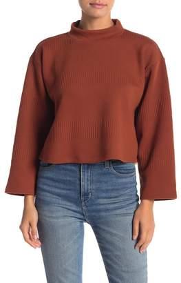 June & Hudson Mock Neck Sweater