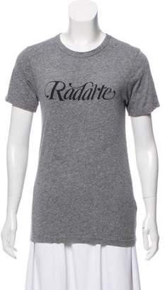 Rodarte Graphic Short Sleeve T-Shirt