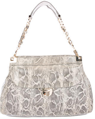 Tory BurchTory Burch Embossed Leather Shoulder Bag