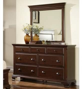 Picket House Furnishings Canton 7 Drawer Dresser - Deep Cherry