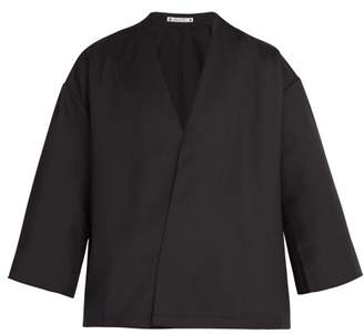 Sasquatchfabrix - Wool Blend Jacket - Mens - Black