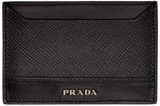 Prada Black Card Holder