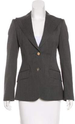 Dolce & Gabbana Notch-Lapel Long Sleeve Blazer