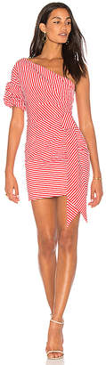 Fame & Partners x Revolve Stripe Dress