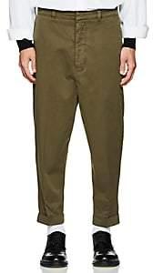 Ami Alexandre Mattiussi Men's Cotton Twill Trousers - Olive
