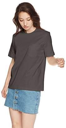 Snidel (スナイデル) - [スナイデル] シンプルTシャツ SWCT182159 レディース DGRY 日本 F (FREE サイズ)