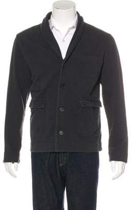 Billy Reid Shawl-Collar Button-Up Cardigan