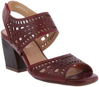 Spring Step L'Artiste by Leather Ankle Strap Sandals - Zemora