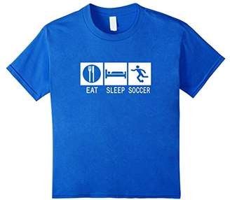 Eat Sleep Soccer Funny T-Shirt