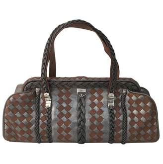 Bottega Veneta Metallic Leather Handbag