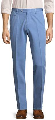 Isaia Men's Solid Trousers