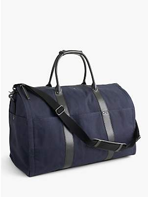 J.Crew Ludlow Garment Duffel Bag, Navy/Black