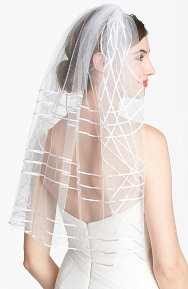 Tasha Ribbon Veil