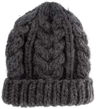 I Love Mr Mittens Cable Knite Wool Beanie