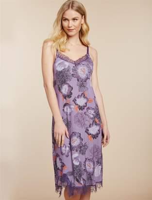 Jessica Simpson Motherhood Maternity Lace Trim Nursing Nightgown