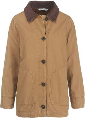 Woolrich Button-Front Barn Jacket