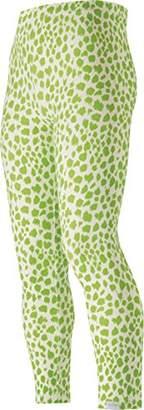 Playshoes Girl's Kids Full Length Animal Leopard Print Leggings,(Manufacturer Size:110cm)