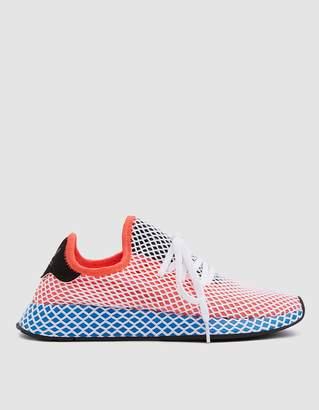 adidas Deerupt Runner Sneaker in Solar Red