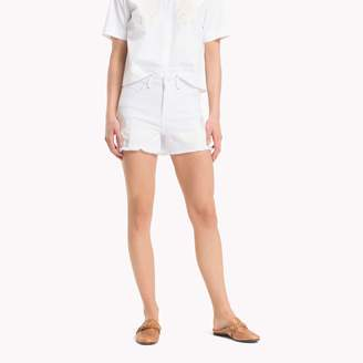 Tommy Hilfiger High Rise Embroidered Short