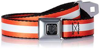 Buckle-Down Men's Seatbelt Belt Stripes Kids