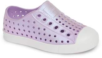 Native 'Jefferson' Iridescent Slip-On Sneaker