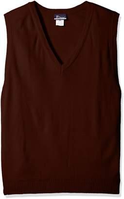 Classroom Uniforms Classroom Men's Plus Size Adult Unisex V-Neck Sweater Vest