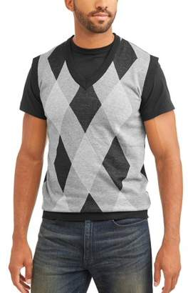 Sahara Club Men's Argyle Sweater vest