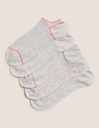 Marks and Spencer 5 Pair Pack Trainer Liner Socks