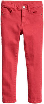 H&M Twill Pants - Red