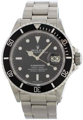 Rolex Vintage Submariner Silver Steel Watches