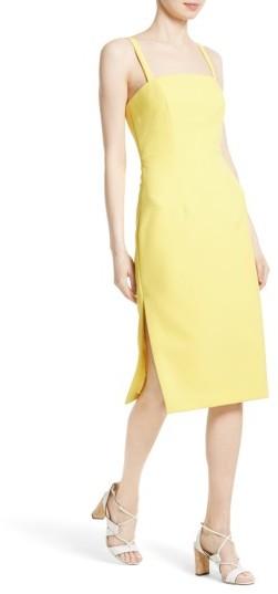 Women's Milly Elle Stretch Crepe Sheath Dress 3