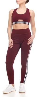 S2 Sportswear Women's Active Varsity Stripe Leggings