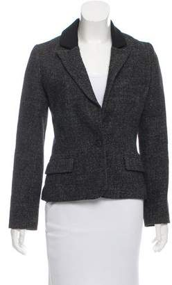 Masscob Wool Peak-Lapel Blazer