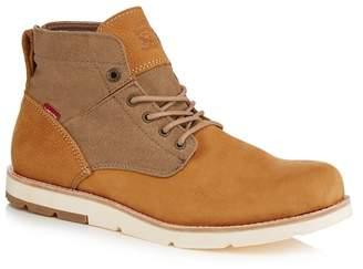 Levi's LEVIS Light Brown Nubuck 'Jax' Chukka Boots