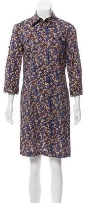 0039 Italy Printed Shirtdress