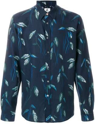 Paul Smith leaf print shirt