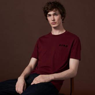Sandro Hero Flocked T-Shirt