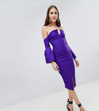 Bardot Vesper Tall Bell Sleeve Pencil Dress