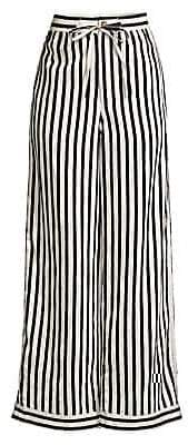 Polo Ralph Lauren Women's Striped Wide-Leg Pants