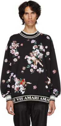 Dolce & Gabbana Black Flower Sweatshirt
