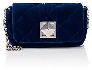 Sonia Rykiel Women's Le Copain Velvet Shoulder Bag