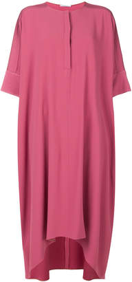 Agnona flared midi dress