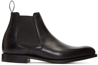 Church's Churchs Black Houston Chelsea Boots