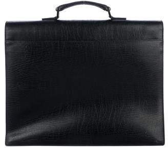Gucci Embossed Calfskin Briefcase